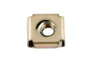 Connect 32714 Cage Nut 6.0mm x 1.6mm Panel Pk 100